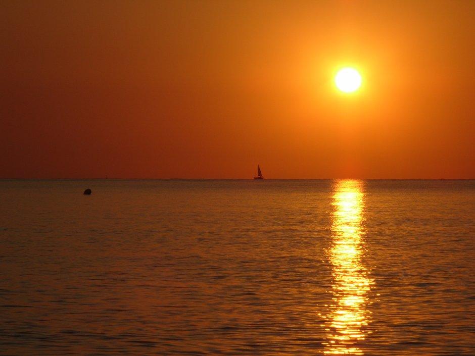 opkomende zon in spanje