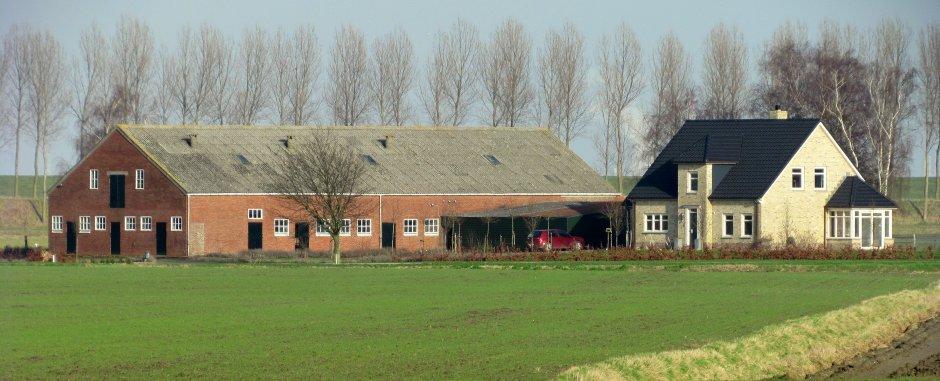 Moderne boerderij zeeland op foto for Boerderij te koop zeeland