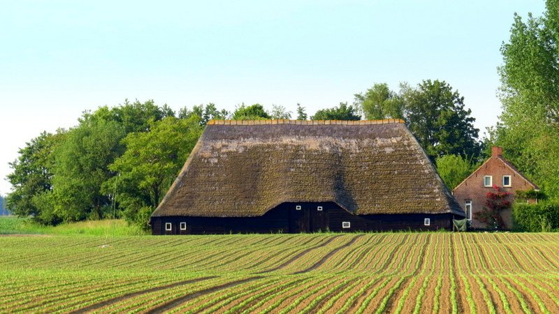 Mooie boerderij zeeland op foto for Boerderij te koop zeeland