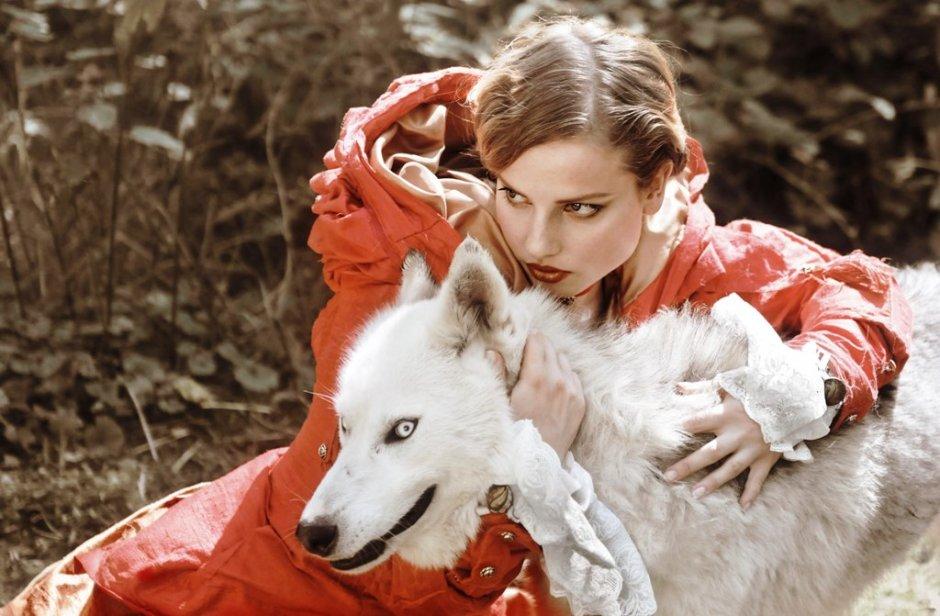 Verwonderlijk Roodkapje met de wolf | ZeelandNet Foto SX-46