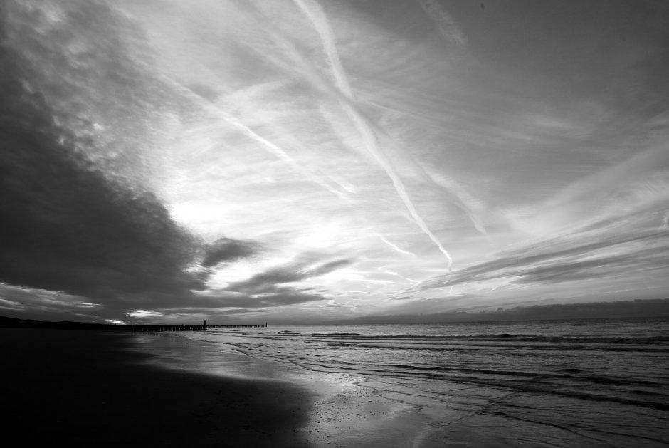 zwart wit foto's zeeland