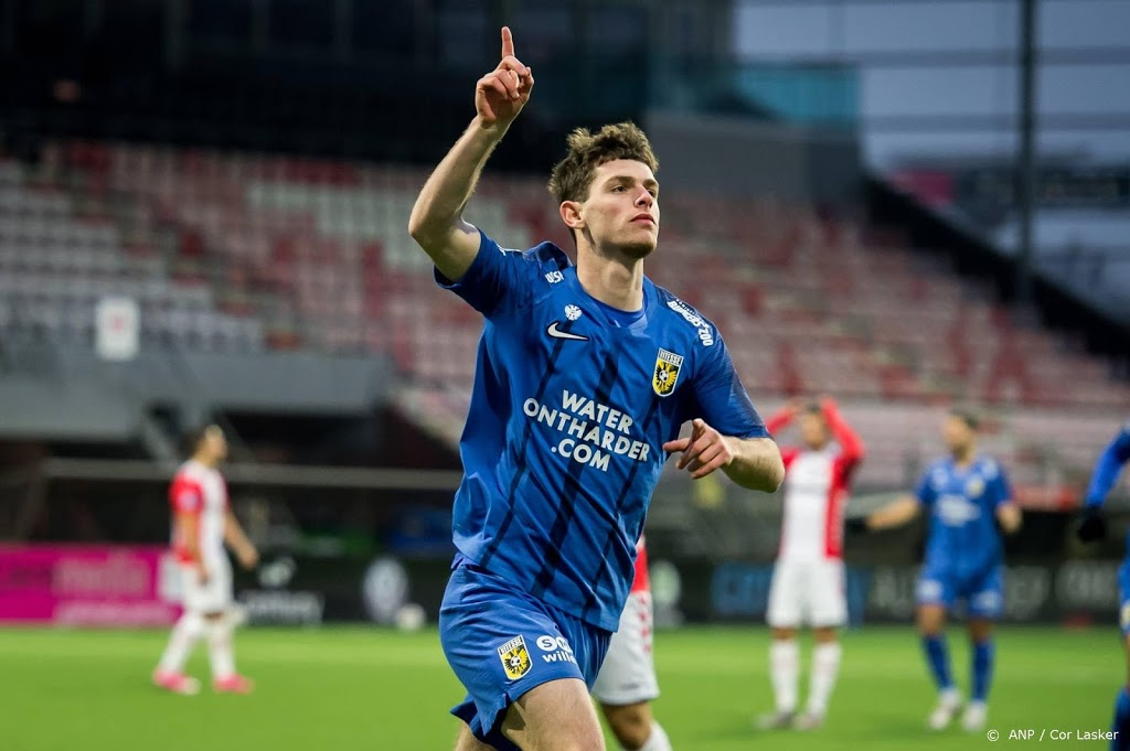 Vitesse-spits Buitink maakt seizoen af in Zwolle
