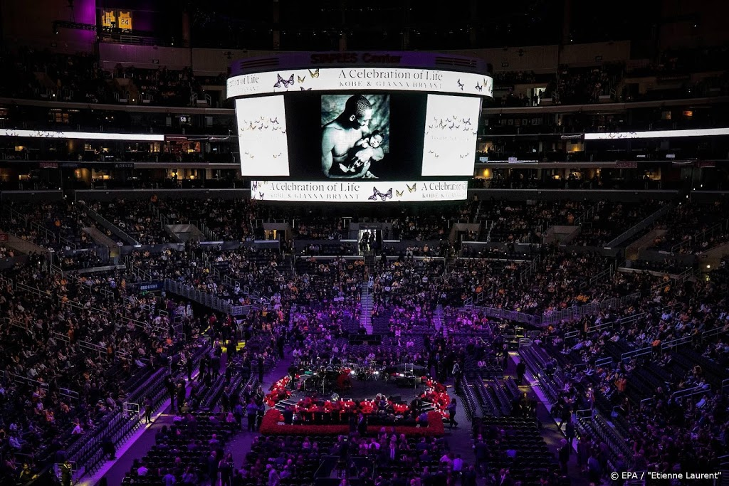 Bryant herdacht in oude thuisbasis Staples Center