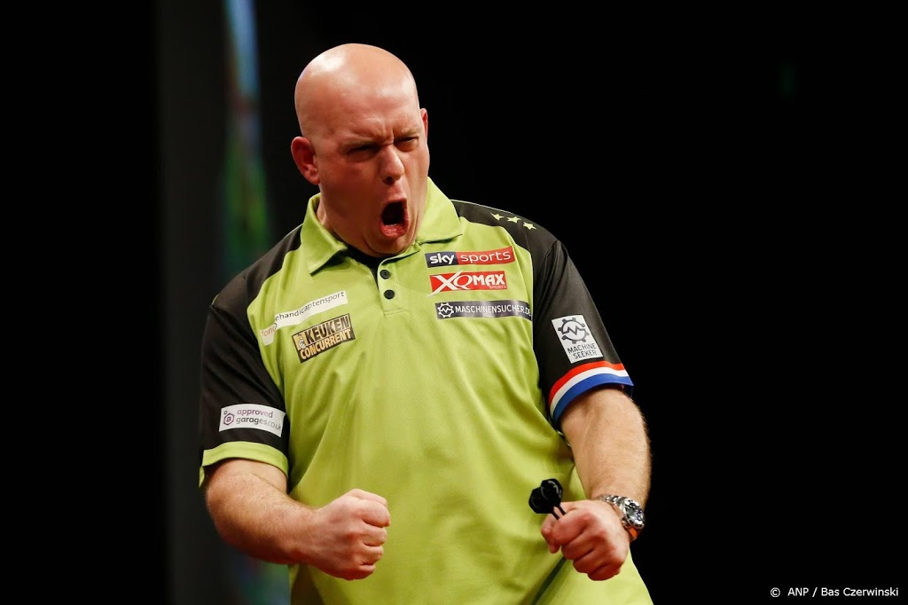 Van Gerwen naar dartsfinale in Players Championship