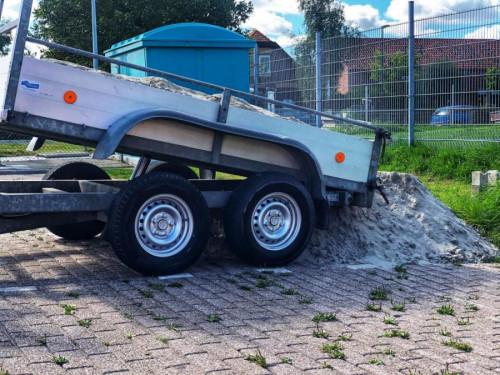 Zand-compost-grond incl BEZORGING!
