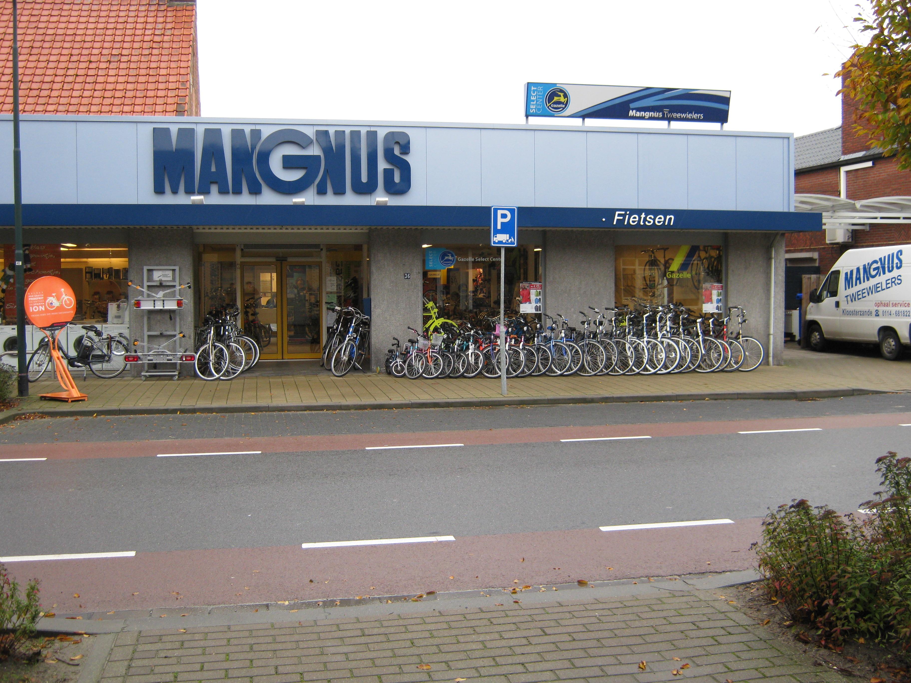 Mangnus tweewielers
