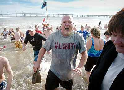 31 Januari - Polar Bear Plunge